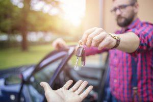 Odovzdanie kľúčov od auta